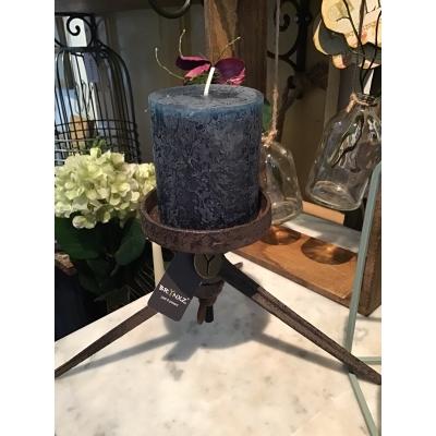 kaarsenstandaard metaal roestlook
